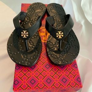Tory Burch Monroe Leather Sandals